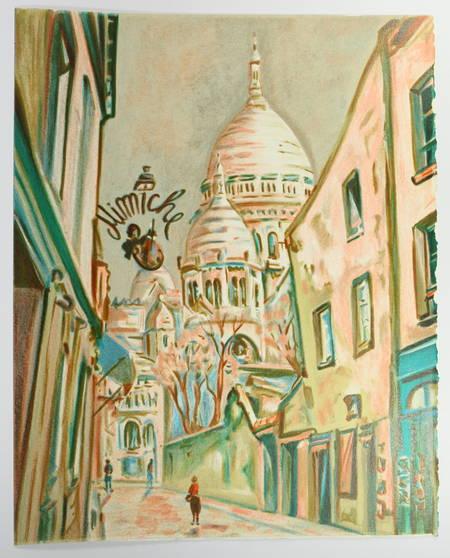 FARGUE - Le piéton de Paris - 1989 - Lithographies de Josy Raynal - Photo 0 - livre rare
