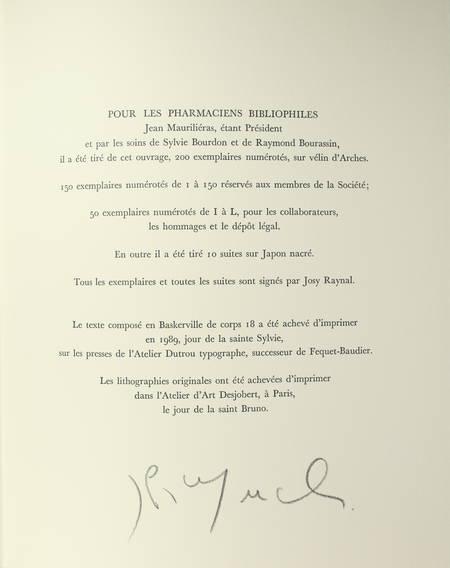 FARGUE - Le piéton de Paris - 1989 - Lithographies de Josy Raynal - Photo 2, livre rare du XXe siècle