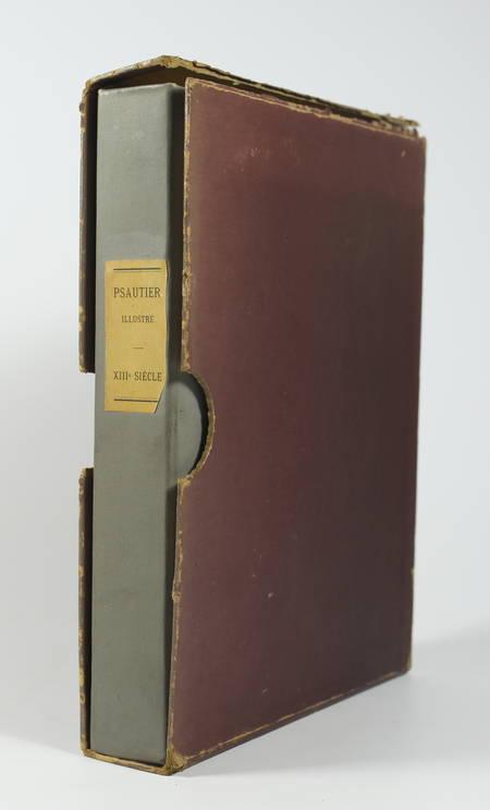 Psautier illustré du XIIIe siècle - Reproduction des 107 miniatures - Photo 0, livre rare du XXe siècle