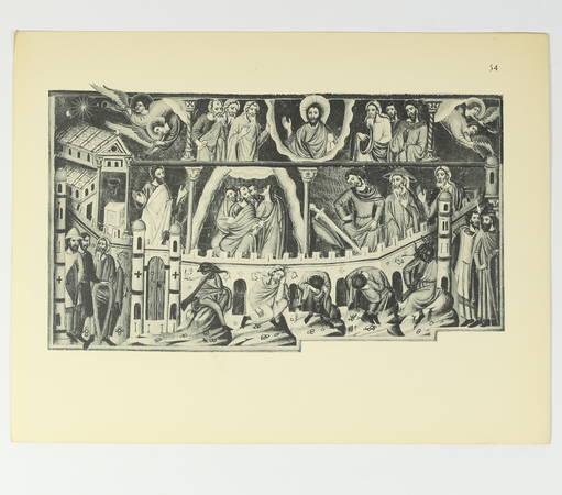 Psautier illustré du XIIIe siècle - Reproduction des 107 miniatures - Photo 1, livre rare du XXe siècle