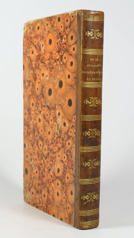 MONTLOSIER - Origine, nature, progrès de la puissance ecclésiastique - 1829 - Photo 0, livre rare du XIXe siècle