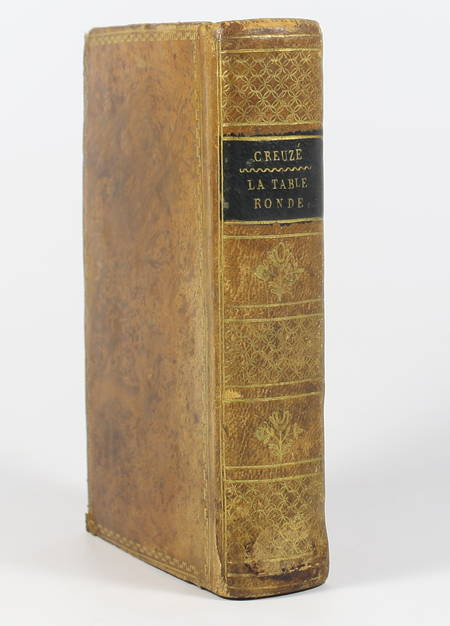 [Chevalerie] CREUZE de LESSER - La table ronde, poëme - 1814 - Frontispice - Photo 1 - livre de collection