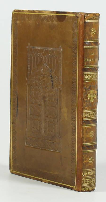 VOLTAIRE - La Henriade - 1825 - Reliure à la cathédrale - Photo 1 - livre romantique