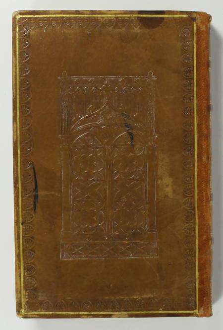 VOLTAIRE - La Henriade - 1825 - Reliure à la cathédrale - Photo 2 - livre romantique