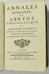 MACQUER Annales romaines depuis la fondation de Rome, jusqu aux empereurs - 1756 - Photo 1 - livre du XVIIIe siècle