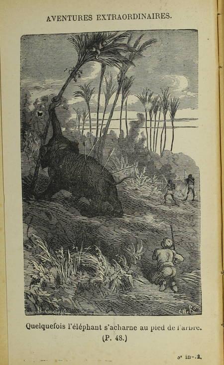 REVOIL - Aventures extraordinaires sur terre et sur mer - (Vers 1885) - Photo 0 - livre rare