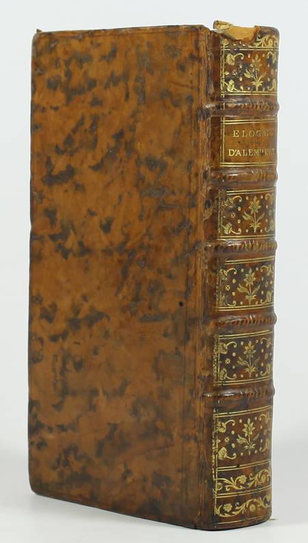 ALEMBERT - Eloges lus dans les séances publiques de l académie françoise - 1779 - Photo 1, livre ancien du XVIIIe siècle