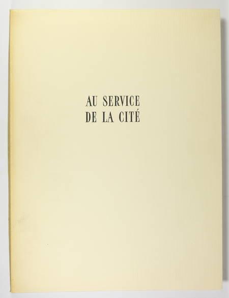 50aire du métro de Paris - 1950 - Dessin original d'André Jacquemin + gravures - Photo 2 - livre de bibliophilie