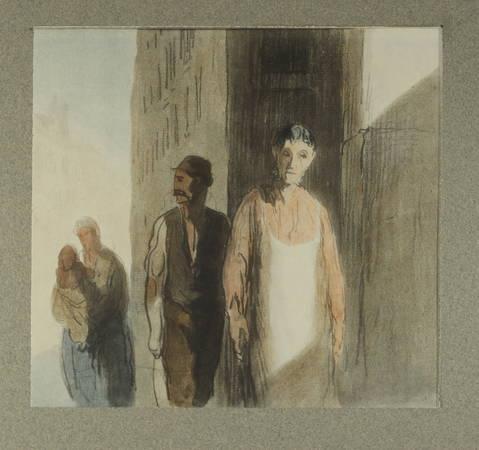 MARTINE (Charles). [50 dessins d'Honoré Daumier] Honoré Daumier. Cinquante reproductions de Léon Marotte avec un catalogue par Charles Martine, bibliothécaire à l'Ecole nationale Supérieure des Beaux-Arts, livre rare du XXe siècle