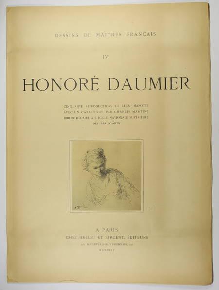 Dessins d Honoré Daumier - Helleu, 1924 - Léon Marotte et Charles Martine - Photo 1 - livre de collection