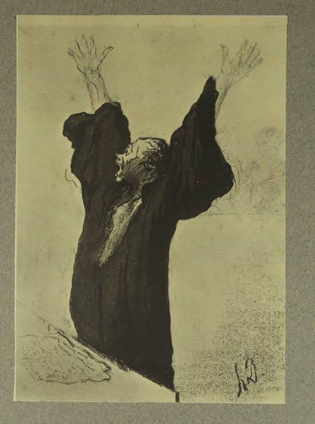 Dessins d Honoré Daumier - Helleu, 1924 - Léon Marotte et Charles Martine - Photo 2, livre rare du XXe siècle