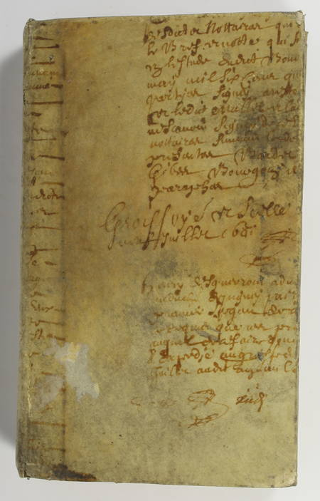 SACI - Nouveau testament - 1831 - Reliure en parchemin du 17e - Photo 2 - livre du XIXe siècle