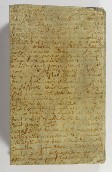 SACI - Nouveau testament - 1831 - Reliure en parchemin du 17e - Photo 3 - livre de bibliophilie