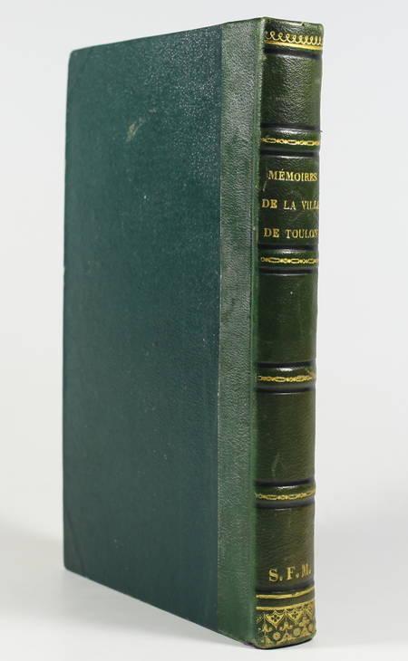 PONS (Z.). Mémoires pour servir à l'histoire de la ville de Toulon, en 1793
