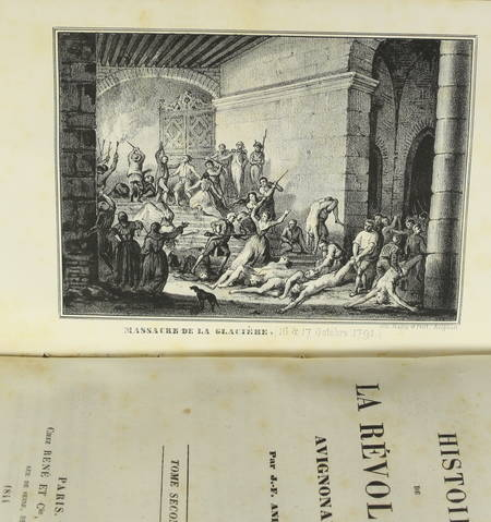 ANDRE - Histoire de la révolution avignonaise - 1844 - Relié - Photo 3 - livre romantique