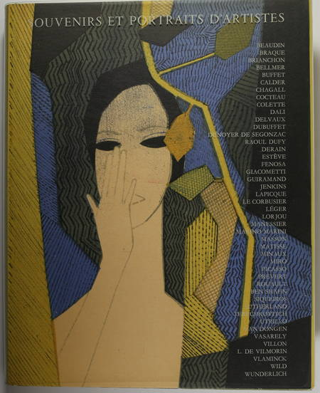 MOURLOT. Souvenirs et portraits d'artistes [Précédé de :] Jacques Prevert. Le coeur à l'ouvrage, livre rare du XXe siècle