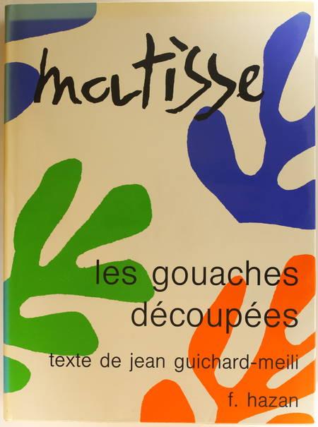 GUICHARD-MEILI (Jean). Matisse, les gouaches découpées, livre rare du XXe siècle
