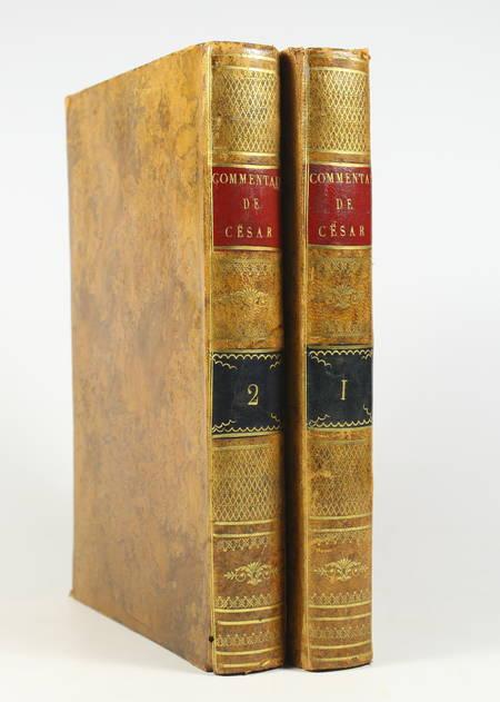 JULES CESAR - Les commentaires, traduit par J. B. Varney - 1810 - Photo 0 - livre d'occasion