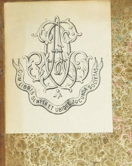 JULES CESAR - Les commentaires, traduit par J. B. Varney - 1810 - Photo 2 - livre d'occasion