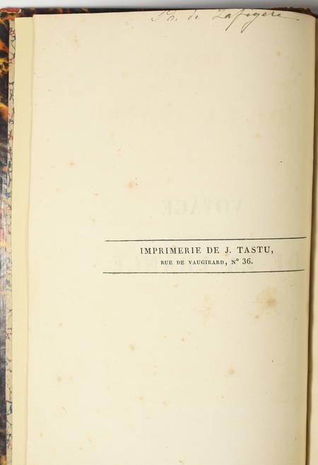 Comte ORLOFF - Voyage dans une partie de la France - 1824 - 3 volumes - Photo 2 - livre romantique