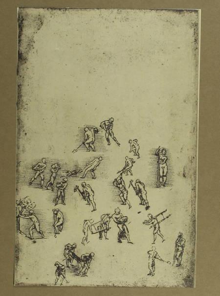 LONGON (Henri ). [56 dessins de Léonard de Vinci] Léonard de Vinci. Cinquante-six dessins reproduits en fac-simile par Léon Marotte avec un catalogue par Henri Longon, livre rare du XXe siècle