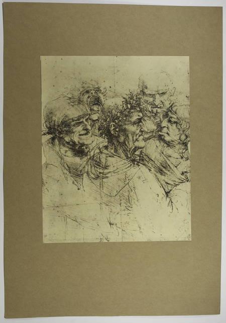 Dessins de Léonard de Vinci - Cité des Livres 1928 Léon Marotte et Henri Longnon - Photo 3, livre rare du XXe siècle