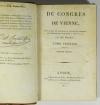 [Empire Restauration] De Pradt - Du congrès de Vienne - 1815 - Photo 1 - livre rare