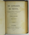 [Empire Restauration] De Pradt - Du congrès de Vienne - 1815 - Photo 2 - livre rare