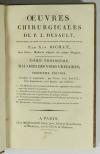 [Médecine] DESAULT - Maladies des Voies Urinaires - 1813 - Photo 2 - livre rare