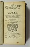 SEGNERY - La pratique des devoirs des curez [curés] - 1740 - Photo 0 - livre de collection