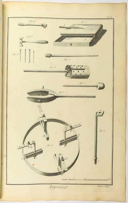 Argenteur - 1762 [Encyclopédie, planches, gravures, métier] - Photo 2 - livre de bibliophilie