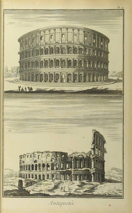 . Antiquité [Encyclopédie, Recueil de planches sur les sciences et les arts généraux et les arts méchaniques]