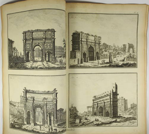 Antiquité - 1762 [Encyclopédie, planches, gravures, architecture] - Photo 2 - livre d'occasion