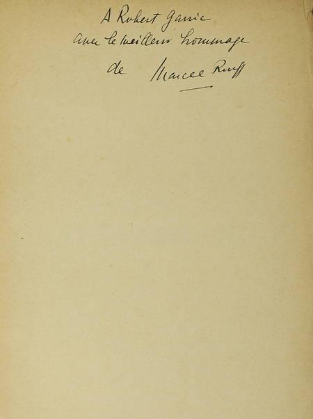 Marcel ROUFF - La vie de Chateaubriand - 1929 - Envoi de l'auteur - Photo 0 - livre du XXe siècle