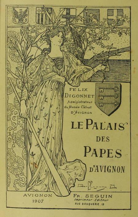 DIGONNET - Le palais des papes d'Avignon - 1907 - Relié - Photo 1 - livre de collection