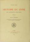 Svend DAHL - Histoire du livre, de l antiquité à nos jours - 1933 - Photo 0, livre rare du XXe siècle