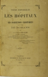 CHEVALIER - Essais historiques sur les hôpitaux de la ville de Romans - 1865 - Photo 2 - livre du XIXe siècle