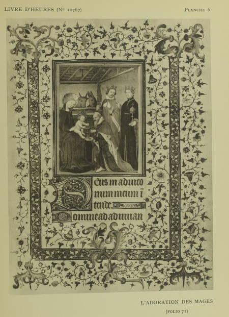 VAN DEN GHEYN (J.). Deux livres d'heures (Nos. 10767 et 11051 de la Bibliothèque royale de Belgique) attribués à l'enlumineur Jacques Coene