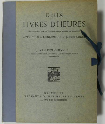 [Enluminure] 2 livres d'heures de l'enlumineur Jacques Coene - Reproductions - Photo 1 - livre du XXe siècle
