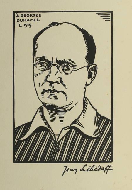 DUHAMEL - Vie des martyrs. 1914-1916 - Mornay 1919 - Bois de Lébédeff - Photo 0 - livre du XXe siècle