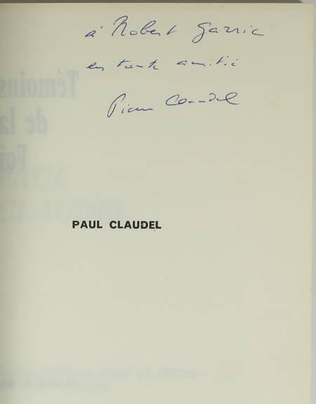 CLAUDEL (Pierre). Paul Claudel
