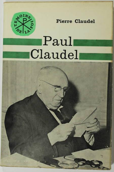 Paul CLAUDEL - 1965 - Envoi de Pierre CLAUDEL - Photo 1 - livre d'occasion
