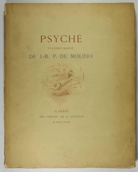 MOLIERE - Psyché, tragédie-Ballet - 1880 - eaux-fortes de Champollion - Photo 1 - livre de bibliophilie