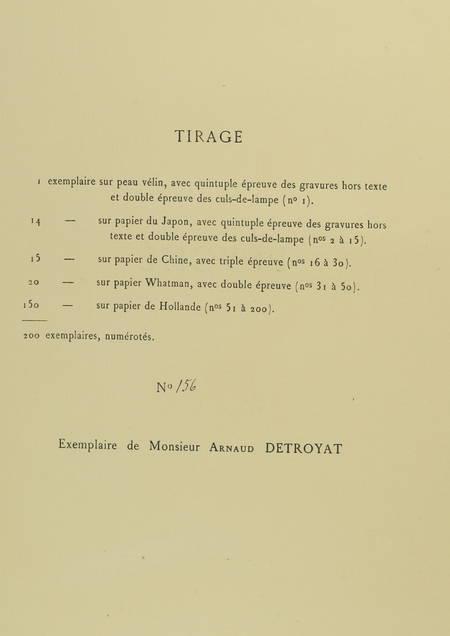 MOLIERE - Psyché, tragédie-Ballet  - 1880 - eaux-fortes de Champollion - Photo 2, livre rare du XIXe siècle