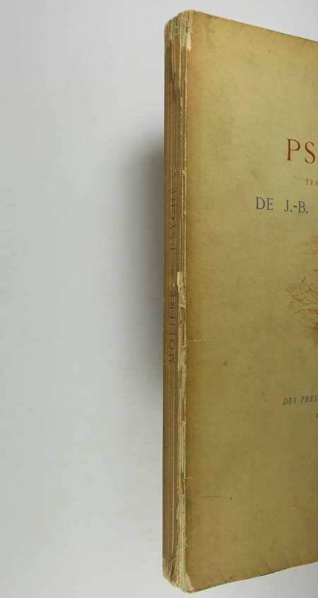 MOLIERE - Psyché, tragédie-Ballet - 1880 - eaux-fortes de Champollion - Photo 3 - livre de bibliophilie