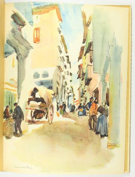 AUBRY (Octave, introduction de). Visions d'Espagne