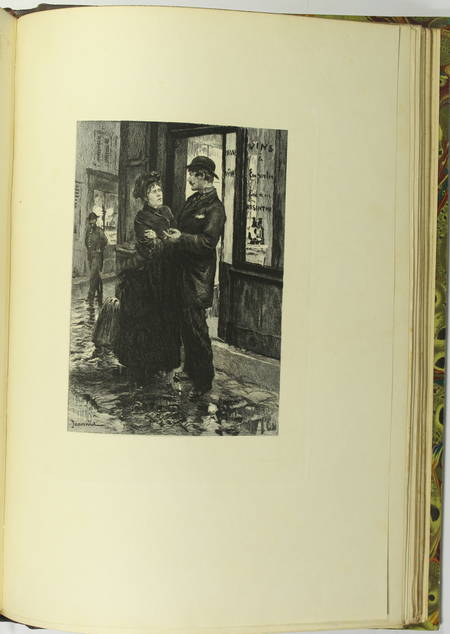 GONCOURT - Germinie Lacerteux 1886 Illustrations de Jeanniot 1/100 Japon - Photo 9 - livre d'occasion