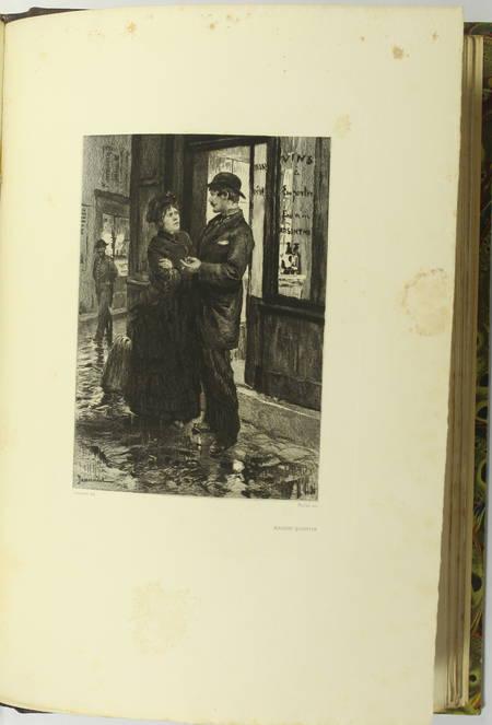 GONCOURT - Germinie Lacerteux 1886 Illustrations de Jeanniot 1/100 Japon - Photo 10 - livre du XIXe siècle