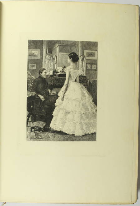 GONCOURT - Germinie Lacerteux 1886 Illustrations de Jeanniot 1/100 Japon - Photo 11 - livre du XIXe siècle