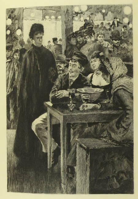 GONCOURT - Germinie Lacerteux 1886 Illustrations de Jeanniot 1/100 Japon - Photo 0 - livre du XIXe siècle